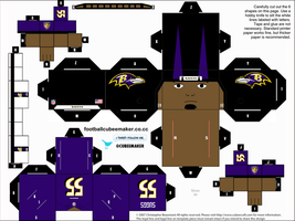 Terrell Suggs Ravens Cubee by etchings13