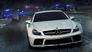 SL65 Black Most Wanted 2012 by RyuMakkuro