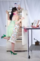 Maternity Pin Up Cooking.3 by Della-Stock