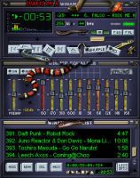 Snakes on a Winamp by luigihann