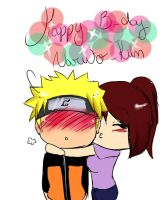.: HAPPY B-DAY NARUTO-KUN :. by mariazinha-san