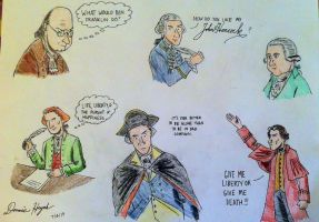 Founding Fathers by Donnietu