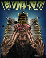 I Am Human-Dalek! by cannibaltooth