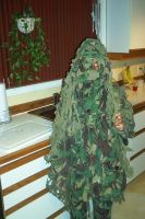 Kid in a Ghillie Suit by ChapterAquila92