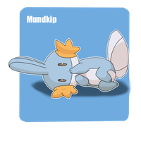Mudkip Pokemon by XONesquikiOX