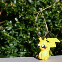Sunbathing Pikachu by Loreleiwave