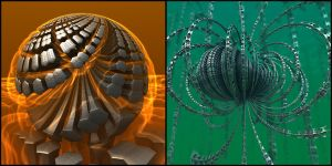 Forging Nails / Razor Wire by bluefish3d