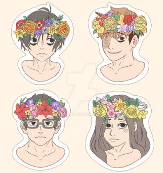 Killing Stalking Stickers by Momoroo