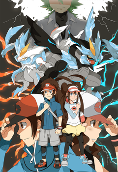 Pokemon Black and White 2 by seiryuuden
