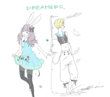 dreamers by kimusensei