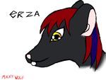Erza The Mouse - Head Detail by MaxtWolf