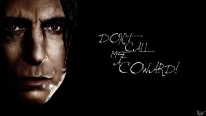 Harry Potter Wallpaper : Snape Quote! v5 by TheLadyAvatar