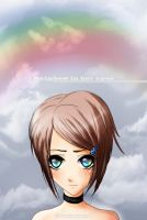 Rainbow in her eyes by GothicRaine1712