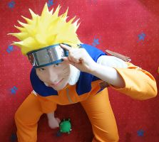 I'm a Ninja of Konoha! (Naruto Cosplay) by Stray-Cat-Yoru