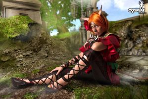 Mithra - Final Fantasy XI by cosplayerotica