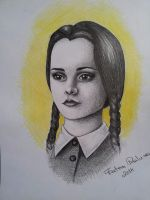 Wednesday Addams by RalucaFratea