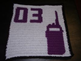 District 3 Blanket Square by Shywalker