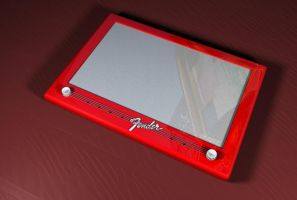 Fender Etch_A_Sketch by 1492ANDIBLAIR