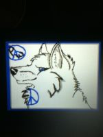 Fan art for peace wolf legacy by MiyukatheDemonWolf