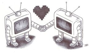 Robot Love by FalloutLuver13