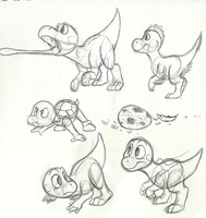 Yoshi doodles by C-Puff