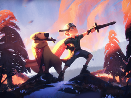 Adventure Time by WojtekFus