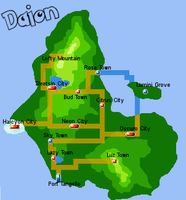 Map of Daion by AlamoK-Lemon