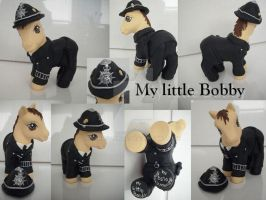 My little Pony Custom Bobby by BerryMouse