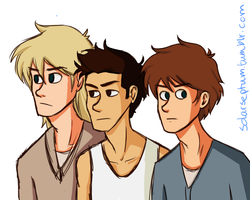 The Mighty Gladers by solarseptum