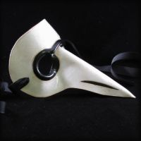 Plague Doctor Porcelain v1 by pilgrimagedesign