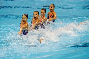 SEA Games Synchronised Swimming 3 by Timothy-Sim