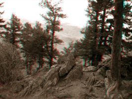 Lookout Mountain Anaglyph by Temphis