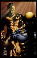 Logan and Daken 2 by Jake-Townsend