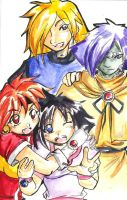 Slayers by kamapon