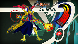 HIGH ROLLER (F.C.): Ra Mehen - Stats and Bio by ShadowDrakkon