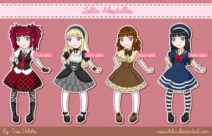 Lolita Styles - Adoptables Open by CrisUchiha