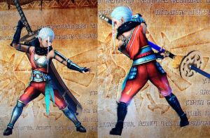 Master quest Impa pose by isaac77598