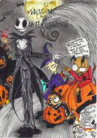 Belated belated halloween art. by Izzy-of-the-corn