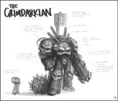 The Grimdarkian by IronShrineMaiden