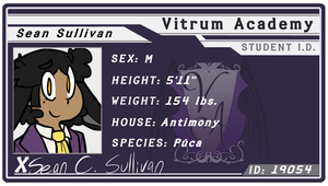 VA - Sean's Student ID Card by Chocolatewoosh