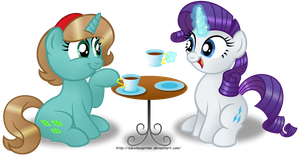 Commission:  Tea Time! by AleximusPrime
