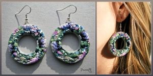 Earrings 'Sirena' by vasoiko
