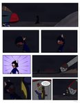 BADVIBE CONCEPT ART: PAGE 1 ROUGH DRAFT by DrJoshfox