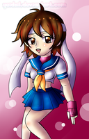 Street Fighter :Sakura Kasugano by XxJadeSilver