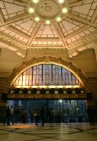 Flinders Street Station by Summon-The-Wolves
