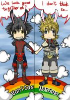 KH BbS: Van and Ven_bookmark by yoruven