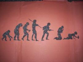 evolution stencil by lilifa