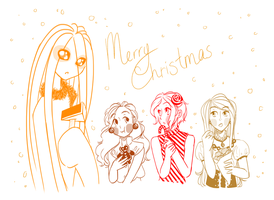 Let Your Hair Down, it's Christmas! by MewShinobi