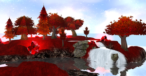 Nimrine: Red Fairy Forest by Coralstar51199