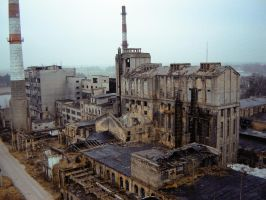 Factory long gone by Oscarius